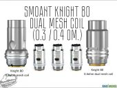 Smoant Knight 80 Dual Mesh Coil (0.3 / 0.4 Ом.)
